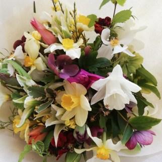 Homegrown Spring Flowers Bouquet