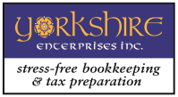 stress-free bookkeeping & tax preparation