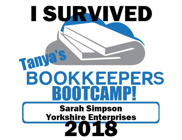 I Survived Tanya's Bookkeepers Bootcamp