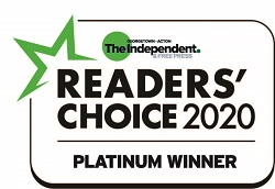 Yorkshire Enterprises Readers' Choice 2020 Platinum Bookkeeping Services Georgetown