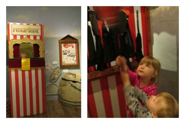 bagshaw museum punch and judy