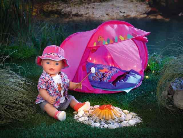 baby born camping set