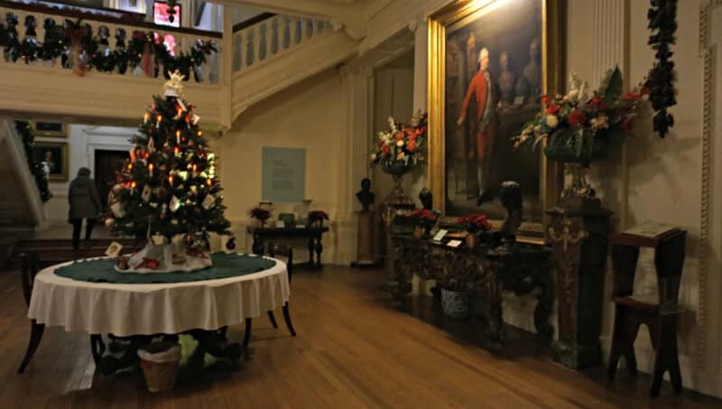 Lotherton hall christmas opening gifts
