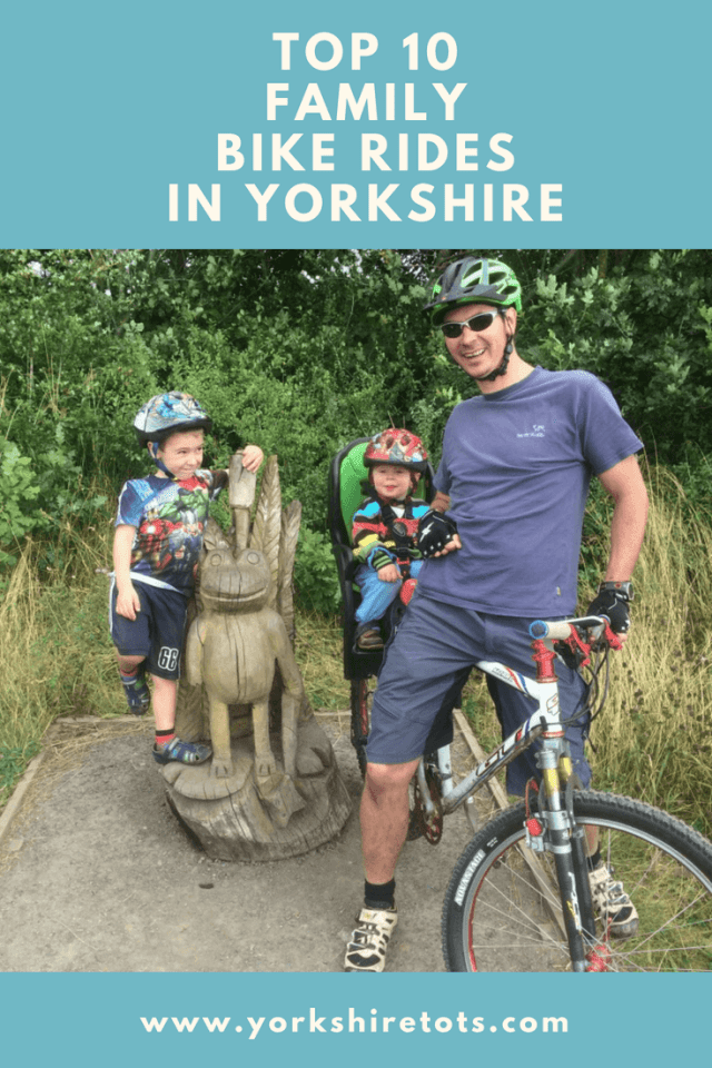 Top 10  family  bike rides  in Yorkshire