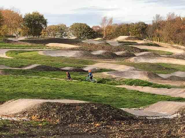 leeds urban bike park yorkshire family bike