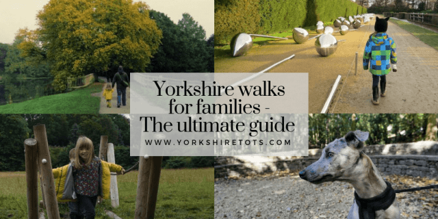 Yorkshire Walks for families guide cover image