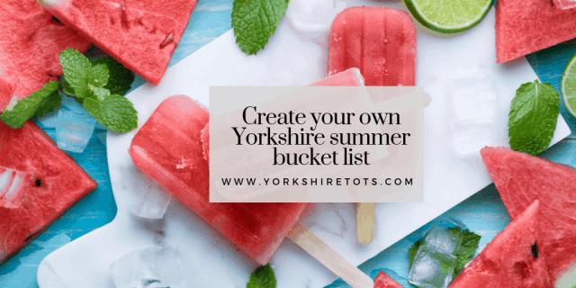 yorkshire summer bucket list