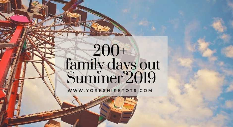 days out in Yorkshire summer 2019