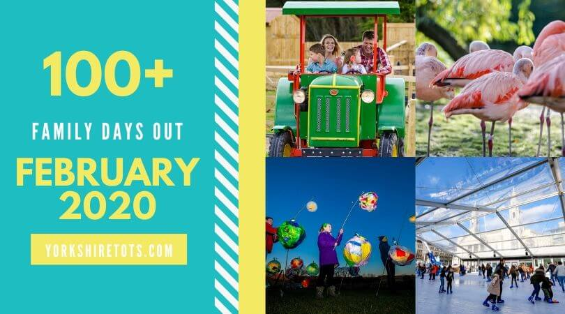 100 family events in February 2020