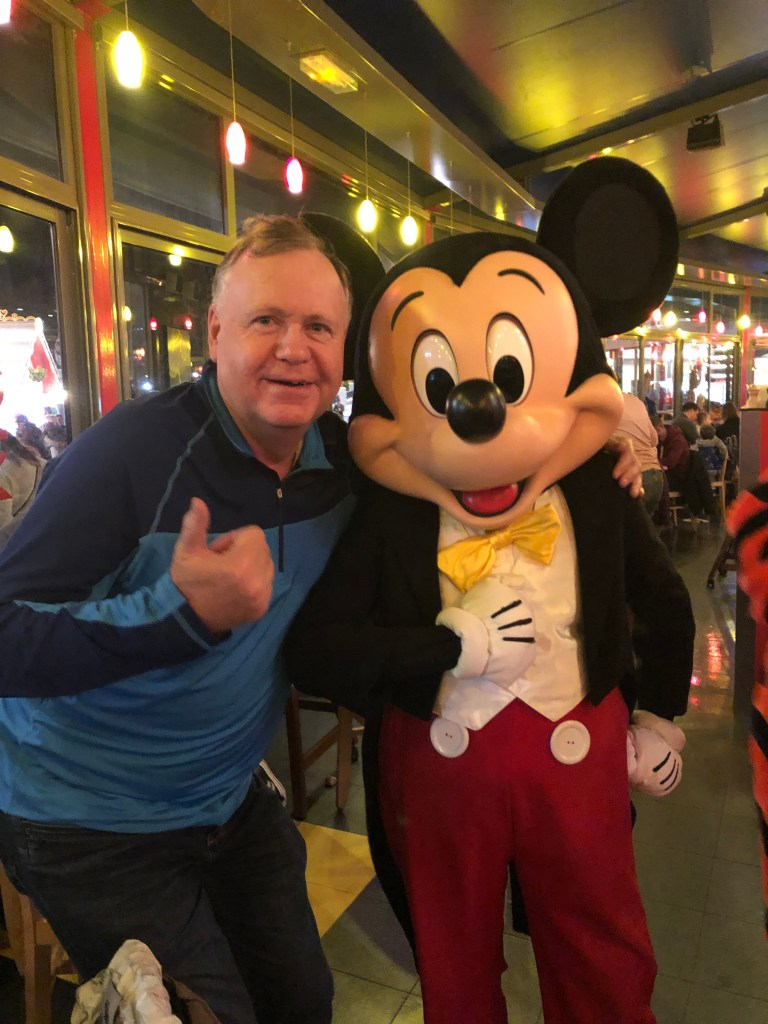 Yorkshire Traveler with Mickey