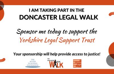 Doncaster Legal Walk 21st June 2021 5.30pm
