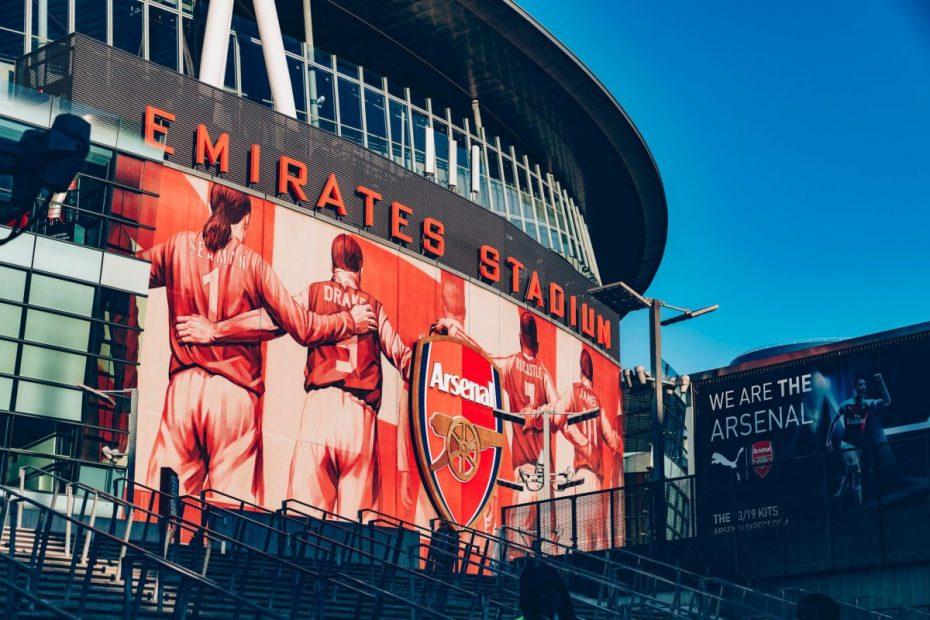 Emirates Stadium during day
