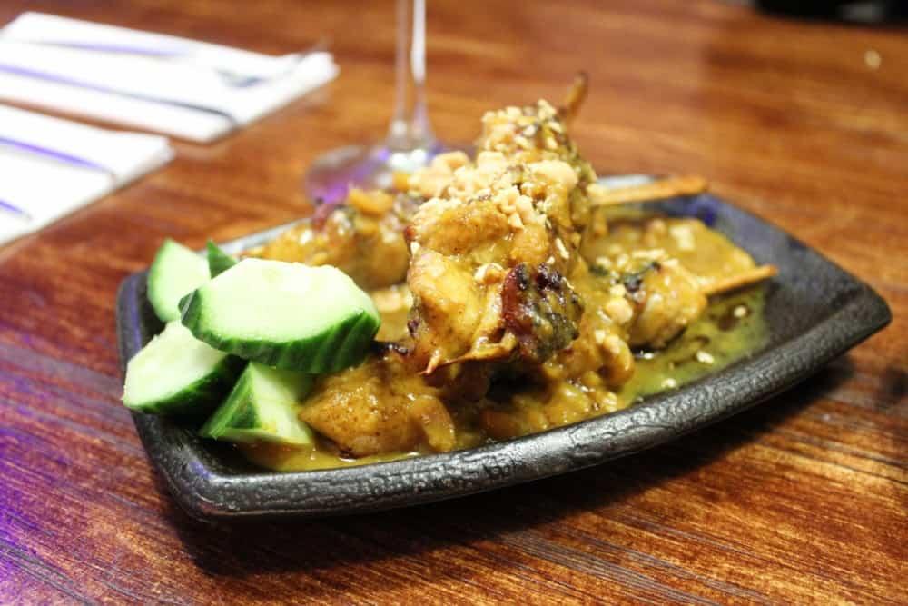 Sumo Flemingate Pan Asian Restaurant in Beverley - chicken satay