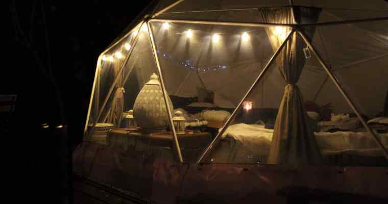 Camp Katur Glamping Yorkshire – Geodome Review