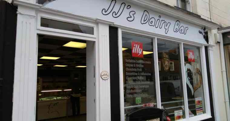 JJ's Dairy Bar – New Ice Cream Bar in Pocklington