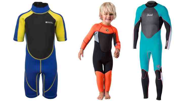 Eight of the Best Kids Wetsuits!