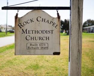 Rock Chapel Sign