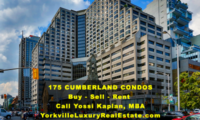 175 CUMBERLAND CONDOS - BUY, SELL, RENT - CONTACT YOSSI KAPLAN