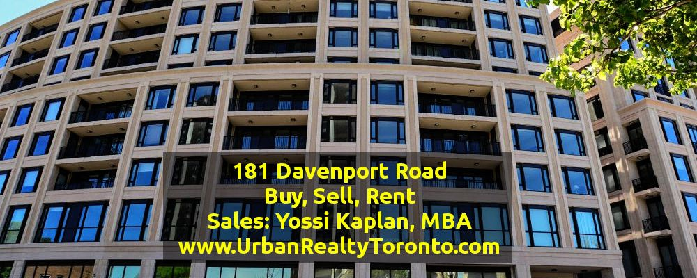 181 Davenport Rd. – Condos for Sale [One, Two, Three Bedrooms]