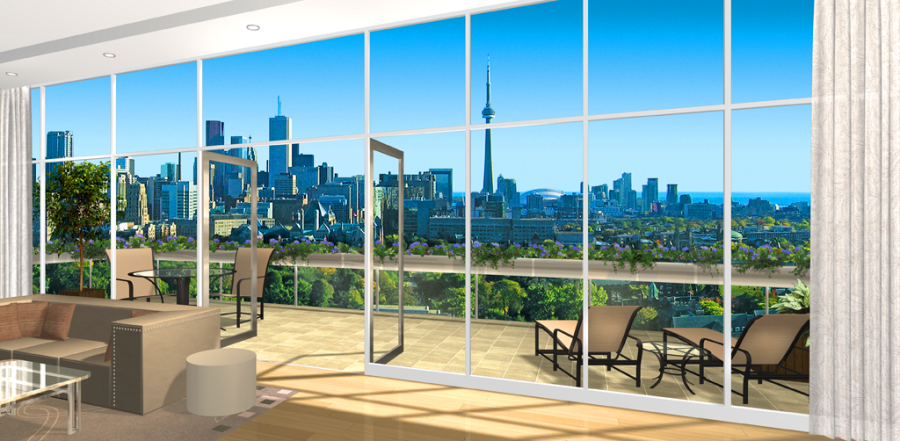 206 BLOOR WEST - PENTHOUSE BALCONY - CONTACT YOSSI KAPLAN