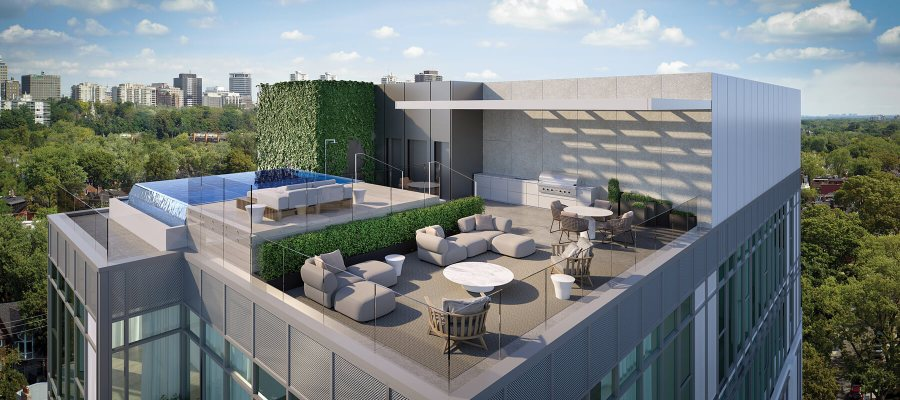 346 DAVENPORT PENTHOUSE ROOF TERRACE