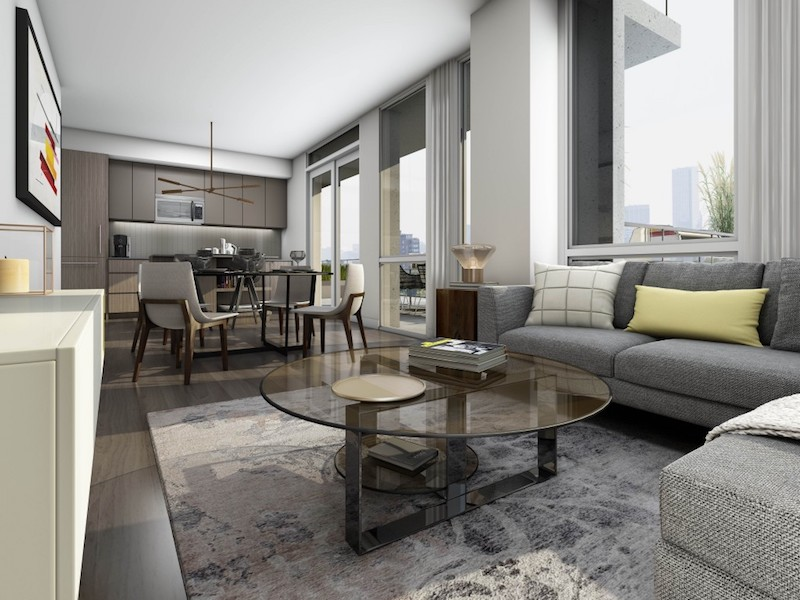 223 St Clair Ave Zigg Condos for Sale - Call Yossi KAPLAN- Living Room 2
