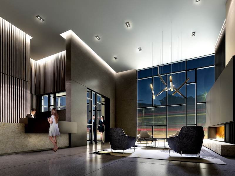 223 St Clair Ave Zigg Condos for Sale - Call Yossi KAPLAN- Lobby