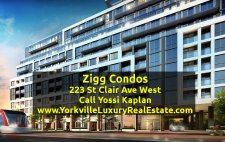 223 St Clair Ave West – Zigg Condos for Sale