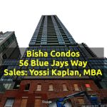 Bisha Condos For Sale @ 56 Blue Jays Way [One, One Plus Den and Two Beds]