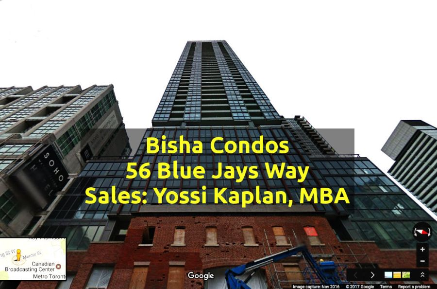Bisha Condos for Sale at 56 Blue Jays Way - contact Yossi Kaplan