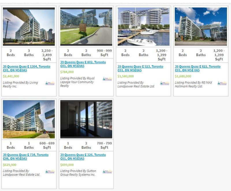 Pier 27- 39 Queens Quay - Live-Listings