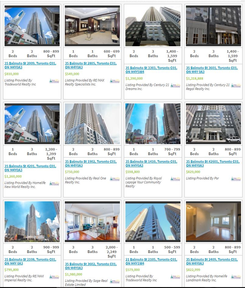 UPTOWN RESIDENCES - LIVE LISTINGS - CALL YOSSI KAPLAN
