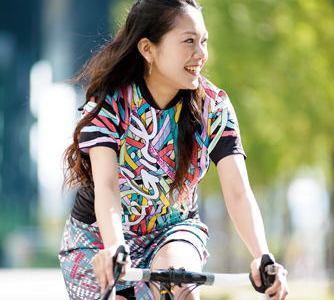 ロードバイクの夏用ウェア選びはUVカットがポイント