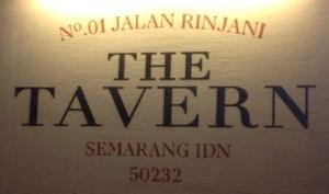 Kuliner Semarang : The Tavern #kulinersemarang (1/6)