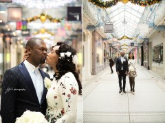 Leeds Arcades wedding session