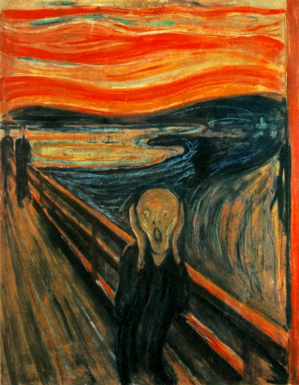 【有名絵画】ムンクの叫び基礎知識