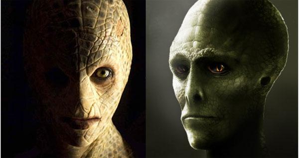 【ヒト型爬虫類】レプティリアン陰謀説とは?