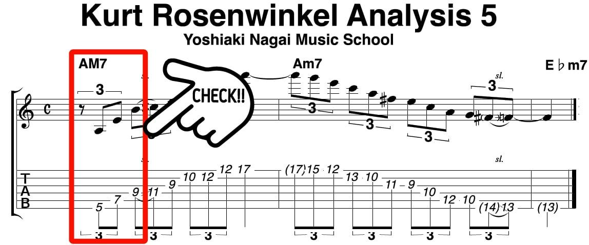 kurt-rosenwinkel,フレーズ,アドリブ,ジャズギター,分析