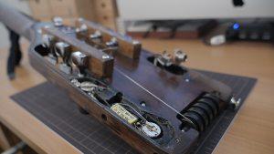 トラベラーギター,改造,ポット,セイモアダンカン,