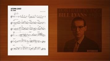 枯葉,autumn-leaves,bill-evans