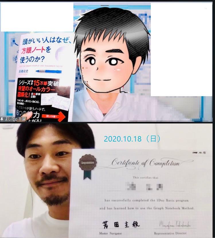 【方眼ノート1DAYベーシック講座オンライン】:いろいろ探して芳田さんから受講してよかったです!