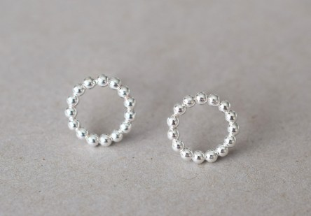 Earstuds Big Dotty Circle
