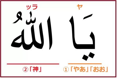 アラビア語で「さあやるぞ」を意味する「ヤッラ」解説付き