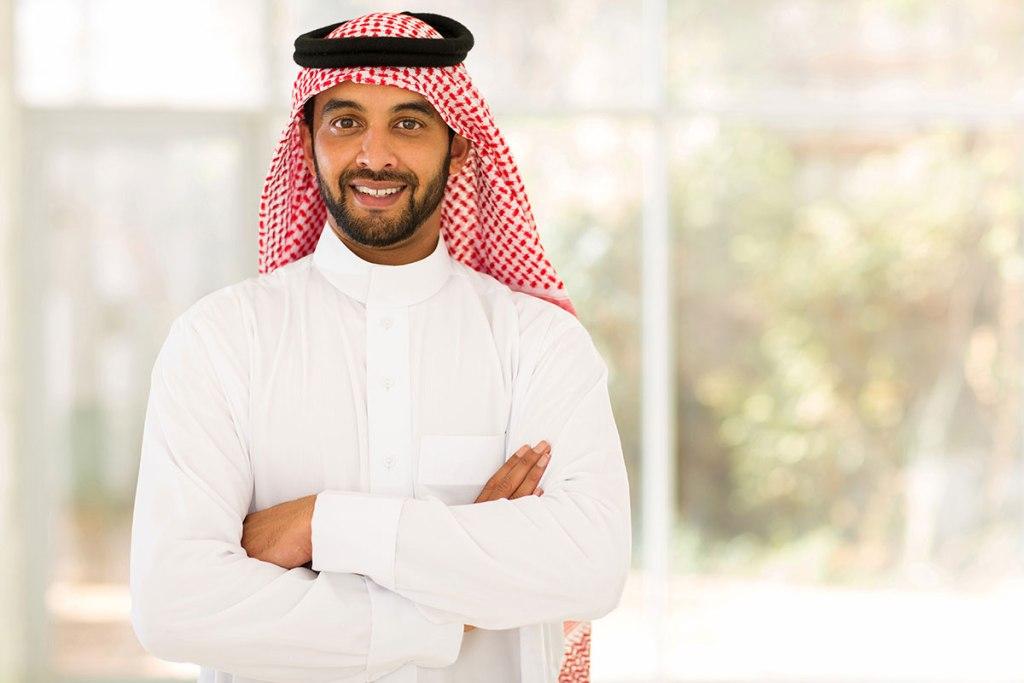 アラブ人笑顔