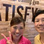 元なでしこプロサッカー選手土井成実さんがパーソナルトレーニングを受けにSATISFYに来てくれました。