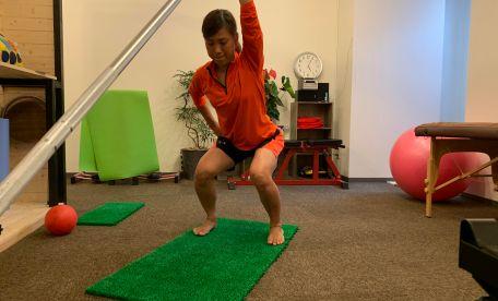 【岩倉駅前ダイエット】元なでしこプロサッカー選手土井成実さんのパーソナルトレーニング