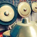 ガムラン楽器、ゴングとクノン