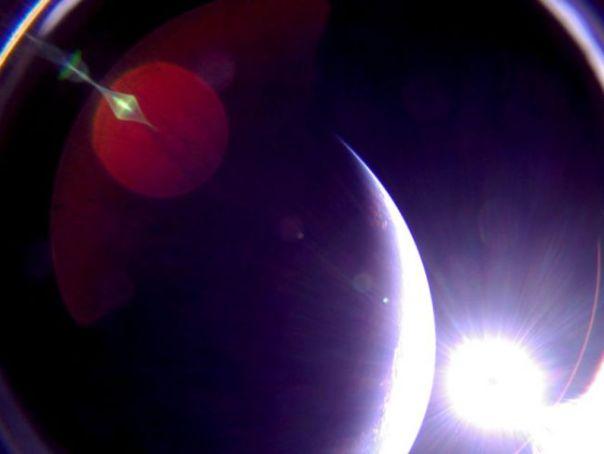 ライトセイル2が見た地球