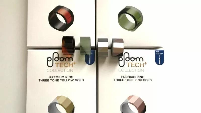 プルームテックプラス(Ploom TECH+)のリングに全4種類の新色が登場