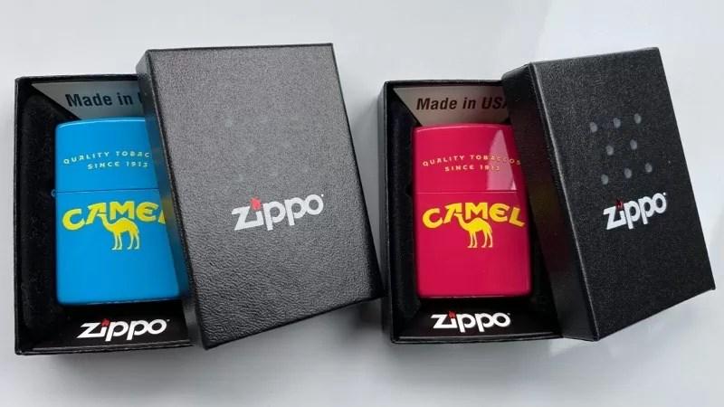 CAMEL zippo(キャメルジッポ)のシアンとマゼンタを紹介!【売り切れ注意】
